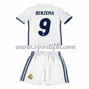 Real Madrid Enfant 2016-17 Benzema 9 Maillot Domicile Pas Cher..