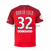 Maillot De Foot Paris Saint Germain Psg 2016-17 David Luiz 32 Maillot Extérieur..