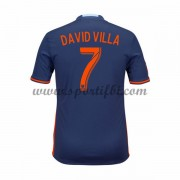 Maillot De Foot New York City 2016-17 David Villa 7 Maillot Extérieur..