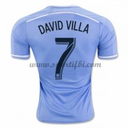 Maillot De Foot New York City 2016-17 David Villa 7 Maillot Domicile..