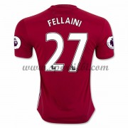 Maillot De Foot Manchester United 2016-17 Fellaini 27 Maillot Domicile..