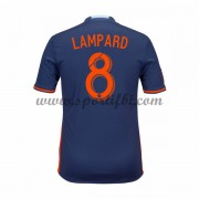 Maillot De Foot New York City 2016-17 Frank Lampard 8 Maillot Extérieur..