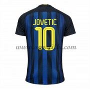 Maillot De Foot Inter Milan 2016-17 Jovetic 10 Maillot Domicile..