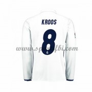 Maillot De Foot Real Madrid 2016-17 Kroos 8 Maillot Domicile Manche Longue..