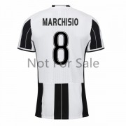 Maillot De Foot Juventus 2016-17 Marchisio 8 Maillot Domicile..