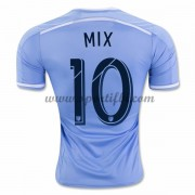 Maillot De Foot New York City 2016-17 Mix Diskerud 10 Maillot Domicile..