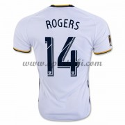 Maillot De Foot Los Angeles Galaxy 2016-17 Rogers 14 Maillot Domicile..