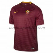 Maillot De Foot AS Roma 2016-17 Maillot Domicile..