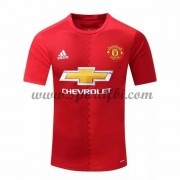 Maillot De Foot Manchester United 2016-17 Maillot Domicile..