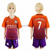 Manchester City Enfant 2016-17 Sterling 7 Maillot Third Pas Cher..
