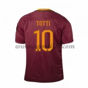 Maillot De Foot AS Roma 2016-17 Totti 10 Maillot Domicile..