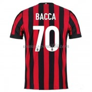 Maillot De Foot AC Milan 2017-18 Bacca 70 Maillot Domicile..