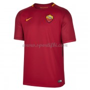 Maillot De Foot AS Roma 2017-18 Maillot Domicile..