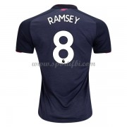 Maillot De Foot Arsenal 2017-18 Aaron Ramsey 8 Maillot Third..
