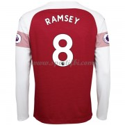 Maillot de foot Arsenal 2018-19 Aaron Ramsey 8 maillot domicile manche longue..