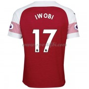 Maillot de foot Arsenal 2018-19 Alex Iwobi 17 maillot domicile..