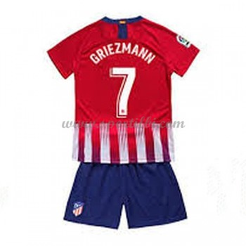 Atletico Madrid enfant 2018-19 Antoine Griezmann 7 maillot domicile