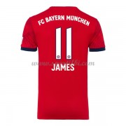 Maillot de foot Bayern Munich 2018-19 James Rodriguez 11 maillot domicile..