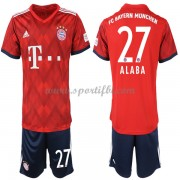 Bayern Munich enfant 2018-19 David Alaba 27 maillot domicile..