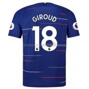 Maillot de foot Chelsea 2018-19 Olivier Giroud 18 maillot domicile..