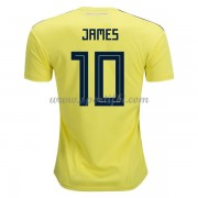 Maillot De Foot Colombie 2018 Équipe Nationale James Rodriguez 10 Maillot Domicile..