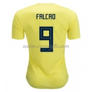 Maillot De Foot Colombie 2018 Équipe Nationale Radamel Falcao 9 Maillot Domicile..