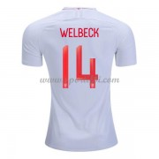 Maillot De Foot Angleterre 2018 Équipe Nationale Danny Welbeck 19 Maillot Domicile..