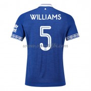 Maillot de foot Everton 2018-19 Ashley Williams 5 maillot domicile..