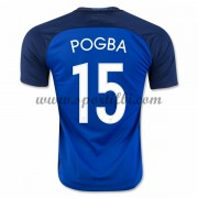 France 2016 Équipe Nationale Paul Pogba 15 Maillot Domicile..