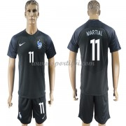 Maillot De Foot France 2018 Équipe Nationale Anthony Martial 11 Maillot Third..