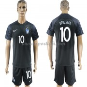 Maillot De Foot France 2018 Équipe Nationale Karim Benzema 10 Maillot Third..