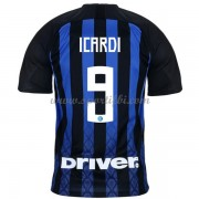 Maillot de foot Inter Milan 2018-19 Mauro Icardi 9 maillot domicile..