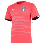 Maillot De Foot Italie 2018 Équipe Nationale Gardien De But Manches Courtes Rouge Football Maillot..