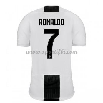 Maillot de foot Juventus 2018-19 Cristiano Ronaldo 7 maillot domicile