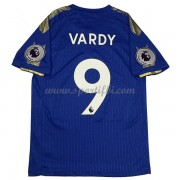 Maillot De Foot Leicester City 2017-18 Vardy 9 Maillot Domicile..