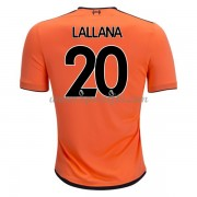 Maillot De Foot Liverpool 2017-18 Adam Lallana 20 Maillot Third..