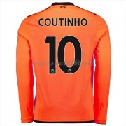 Maillot De Foot Liverpool 2017-18 Philippe Coutinho 10 Maillot Third Manche Longue..