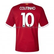 Maillot De Foot Liverpool 2017-18 Philippe Coutinho 10 Maillot Domicile..