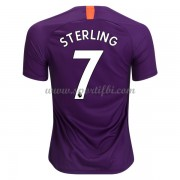 Maillot de foot Manchester City 2018-19 Raheem Sterling 7 maillot third..