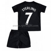 Manchester City Enfant 2017-18 Raheem Sterling 7 Maillot Third Pas Cher..