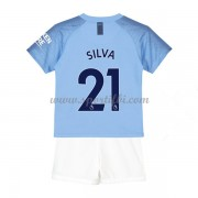 Manchester City enfant 2018-19 David Silva 21 maillot domicile..