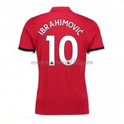 Maillot De Foot Manchester United 2017-18 Zlatan Ibrahimovic 9 Maillot Domicile..