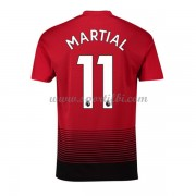 Maillot de foot Manchester United 2018-19 Anthony Martial 11 maillot domicile..