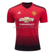 Maillot de foot Manchester United 2018-19 maillot domicile