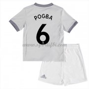 Manchester United Enfant 2017-18 Paul Pogba 6 Maillot Third Pas Cher..