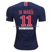 Maillot de foot Paris Saint Germain PSG 2018-19 Di Maria 11 maillot domicile..