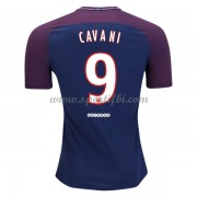 Maillot De Foot Paris Saint Germain Psg 2017-18 Edinson Cavani 9 Maillot Domicile..