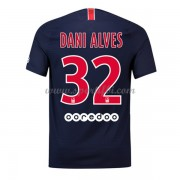 Maillot de foot Paris Saint Germain Psg 2018-19 Dani Alves 32 maillot domicile..