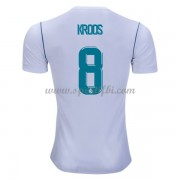 Maillot De Foot Real Madrid 2017-18 Toni Kroos 8 Maillot Domicile..