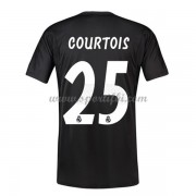 Maillot de foot Real Madrid 2018-19 Thibaut Courtois 25 gardien de but maillot domicile